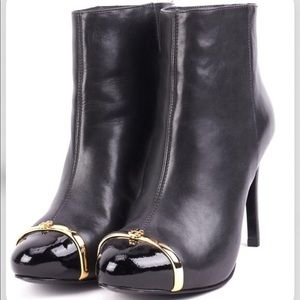 """Tory Burch """"Pacey"""" Black Bootie - 6.5M"""